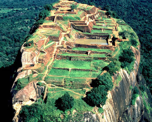 Sigiriya - Le Roc du Lion - Sri-Lanka - Ceylan. Sigiri12