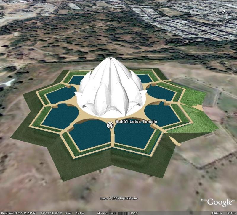 Le Temple du Lotus à Delhi, Inde Temple10