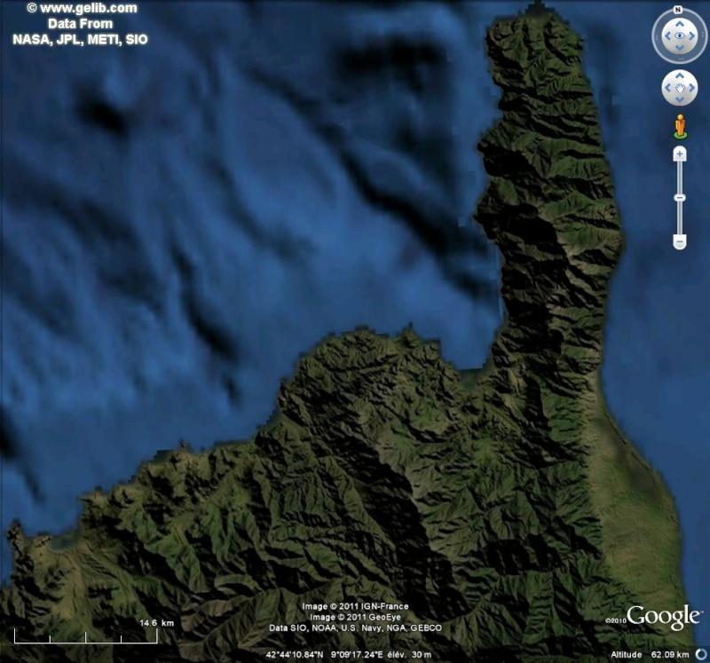 Overlay Global Terrain Map sur GE Terrai11