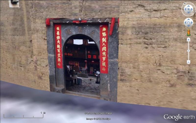 """Les """"Tulou"""", habitations traditionnelles des Hakkas du Fujian - Chine Tulou_12"""