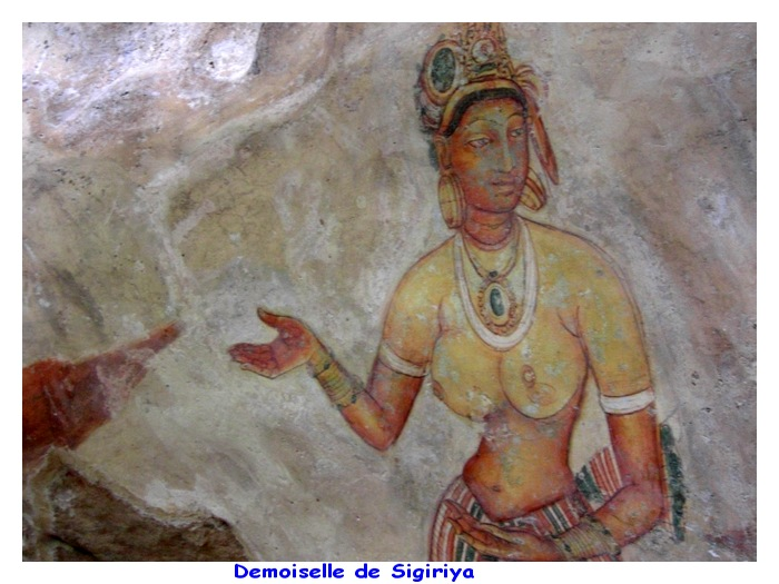 Sigiriya - Le Roc du Lion - Sri-Lanka - Ceylan. Z0sa7l10