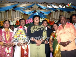 Senthil's son wedding photo Senth010