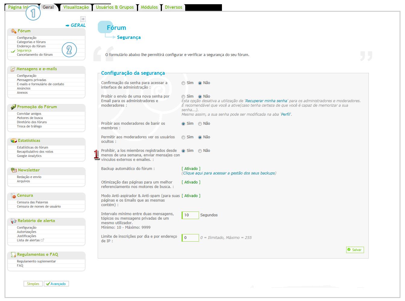 Nova atualização: novo sistema anti-spam, widget Google +1 e títulos obrigatórios nas MP's Proib10
