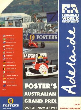 F1 1991 - Australian GP [July 8th] Adelai11