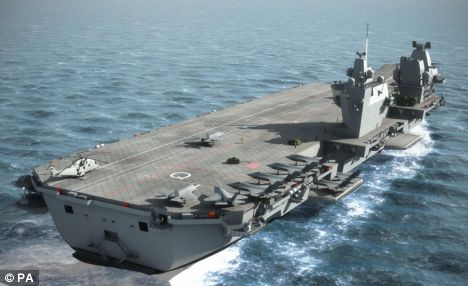 Aircraft Carrier (HMS Queen Elizabeth & HMS Prince of Wales) Articl10