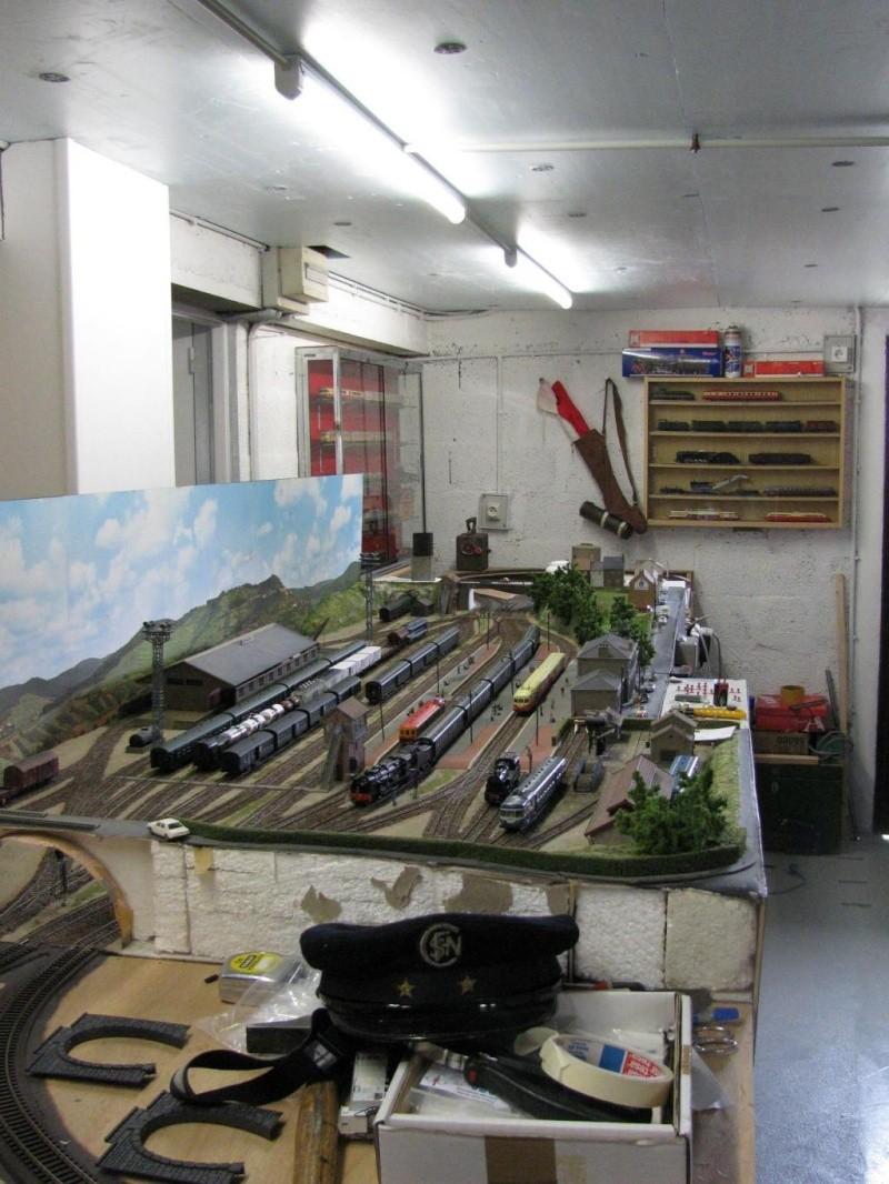 une autre de mes passions  le  modélisme ferroviaire Reseau11