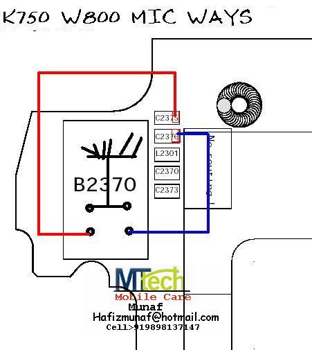 Sonyericsson Mic Hardware Solution K750_m10
