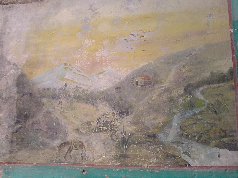 Mural de un gambusino en casa abandonada de S.L.P. ¿una pista oculta? P2808110
