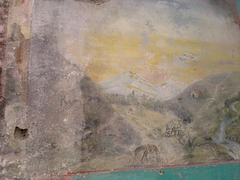 Mural de un gambusino en casa abandonada de S.L.P. ¿una pista oculta? P2808111