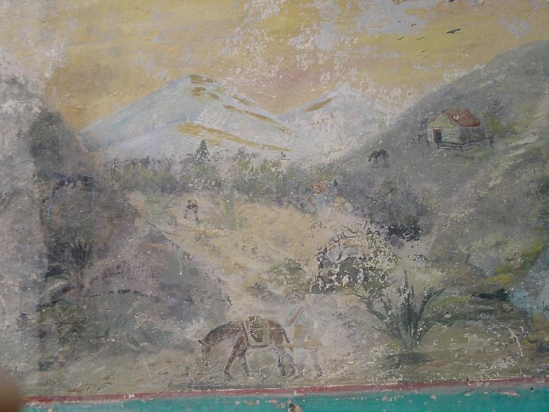 Mural de un gambusino en casa abandonada de S.L.P. ¿una pista oculta? P2808112