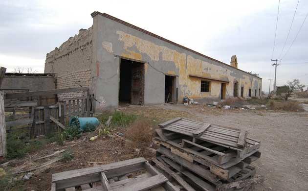 Otro tesoro histórico abandonado, Hacienda del Bosque. Resist10