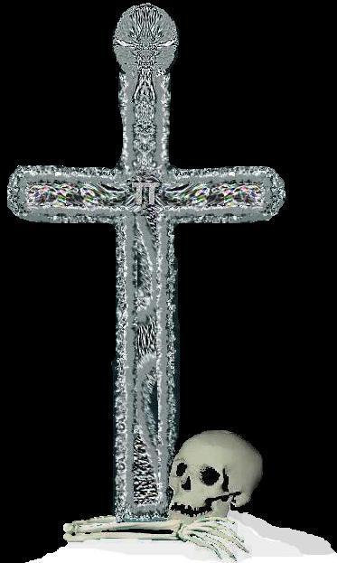 Crucifijo de plata de 1 metro de altura perdido Tt-cru10