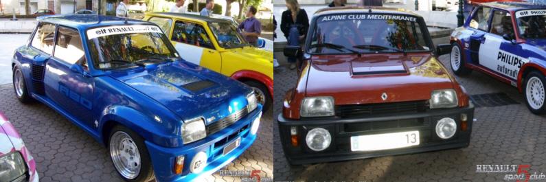 Renault 5 Sport History AVIGNON Turbo210