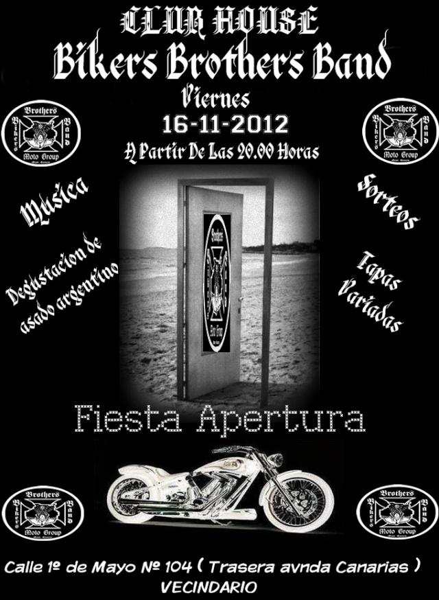 Inaguracion Club House Bikers Brothers Band Cartel11