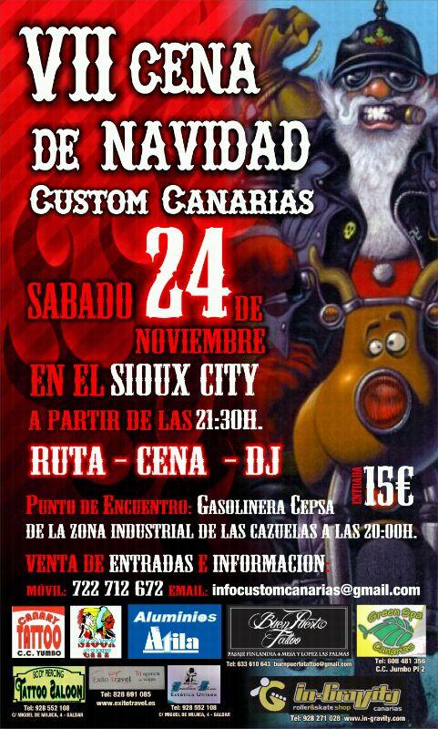 VII Cena de Navidad Custom Canarias Cena_n10