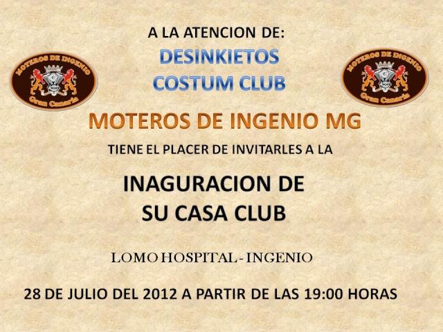 Inaguracion Club House Moteros de Ingenio  Desink13
