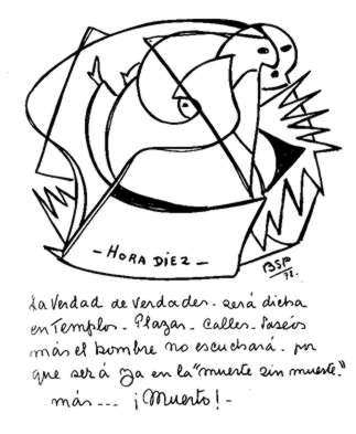 """hombre - El contactado Benjamín Solari Parravicini (el """"Nostradamus"""" argentino) Hora_110"""