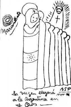 Santa Fé llora sangre una imagen de la Vigen Profec11