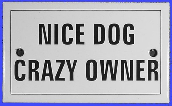 Funny dog signs Nice_d10