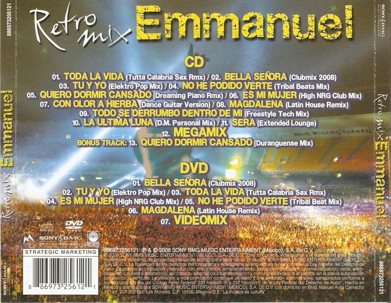 Retro Mix de Emmanuel en Mèxico Emmanu30