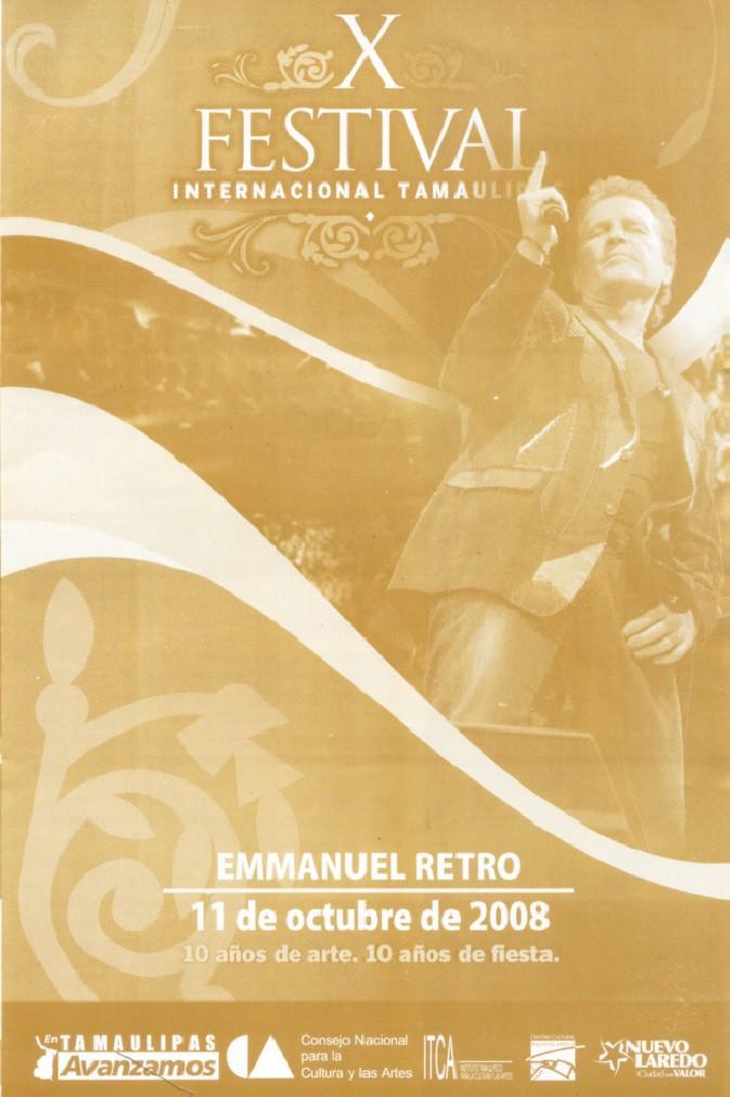 Emmanuel en el Festival Internacional Tamaulipas OCT 11 Emmanu31
