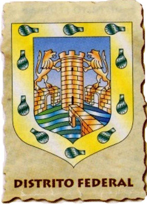 Escudos de los Estados (II) Distri10