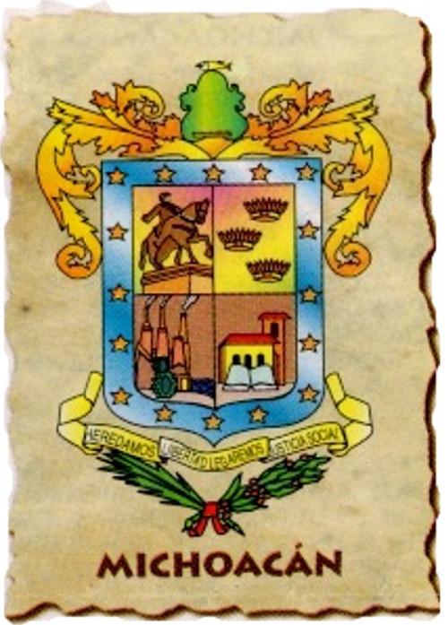 Escudos de los Estados (II) Michoa10