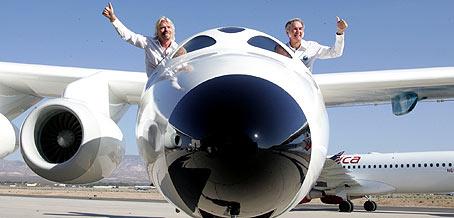 White knight two, nave nodriza para viajes turisticos al espacio Virgin11