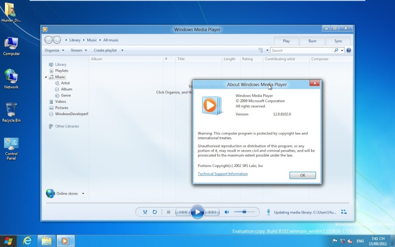 Windows Development Preview 712