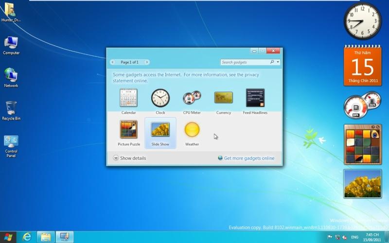 Windows Development Preview 814