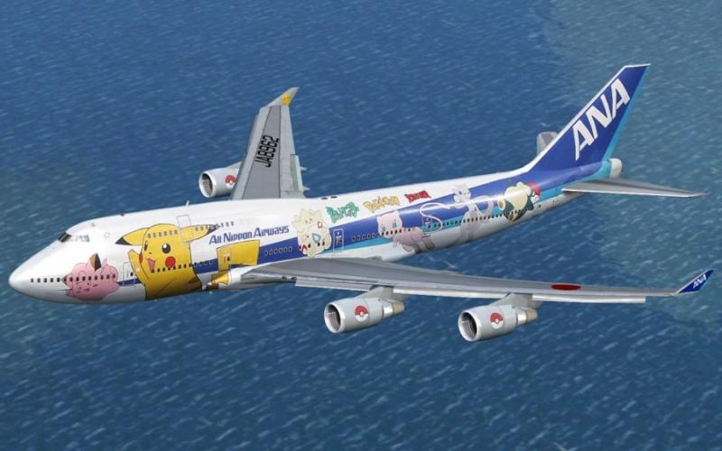 Une compagnie aérienne fait des avions pokémons! Photo-10