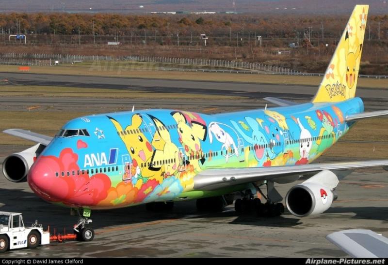 Une compagnie aérienne fait des avions pokémons! Photo-11