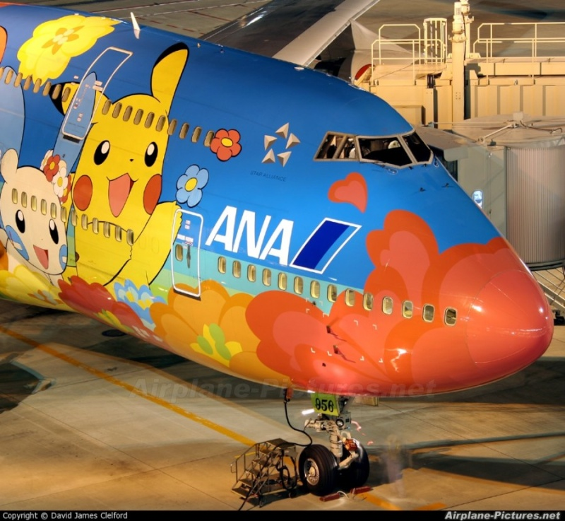 Une compagnie aérienne fait des avions pokémons! Photo-12