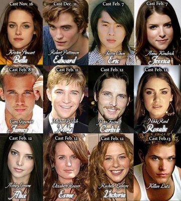 Cast de la película Twilig10