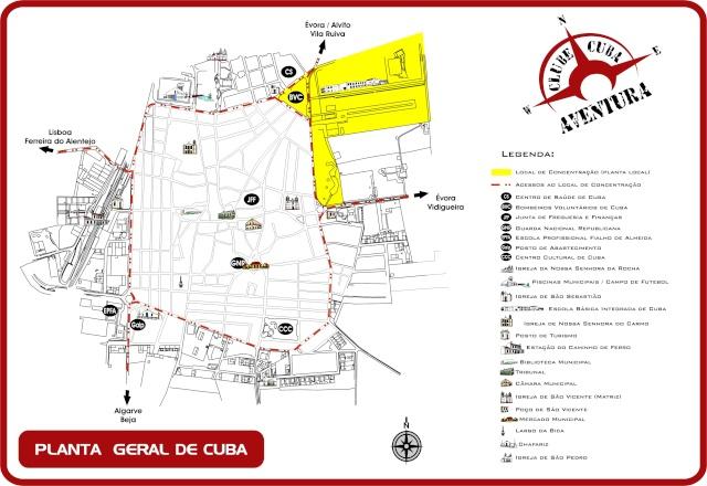 4ª MARATONA BTT CUBA - 15 JUNHO 2008 Planta13