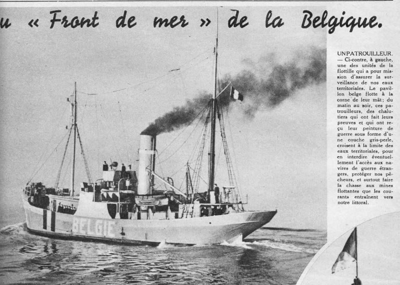LA MARINE MILITAIRE BELGE AVANT LA ZM-FN 12-19314