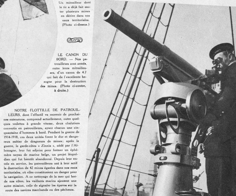 LA MARINE MILITAIRE BELGE AVANT LA ZM-FN 12-19315