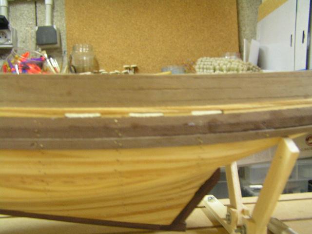 Enduit  pour coque de bateau bois  Pict1210