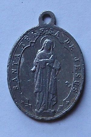 medalla basílica de Sta Teresa de Jesus-Alba de Tormes 212