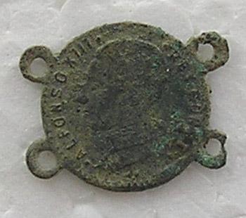 Alfonso XIII medalla?, pulsera?? Imagen13