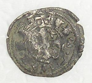 Dinero-pepion de Alfonso VIII, ceca Toledo Mdv10