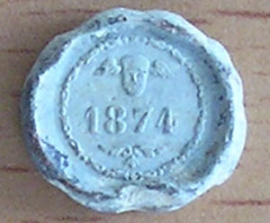 precinto de plomo Pl210