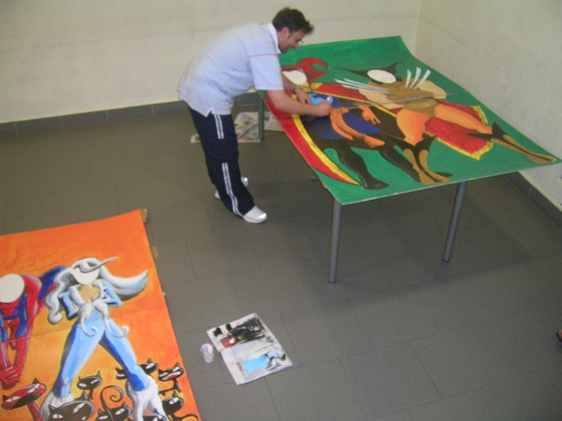 """FOTOS - Paneles para los """"Encuentros Rúnicos"""" 2008 Dscn0820"""
