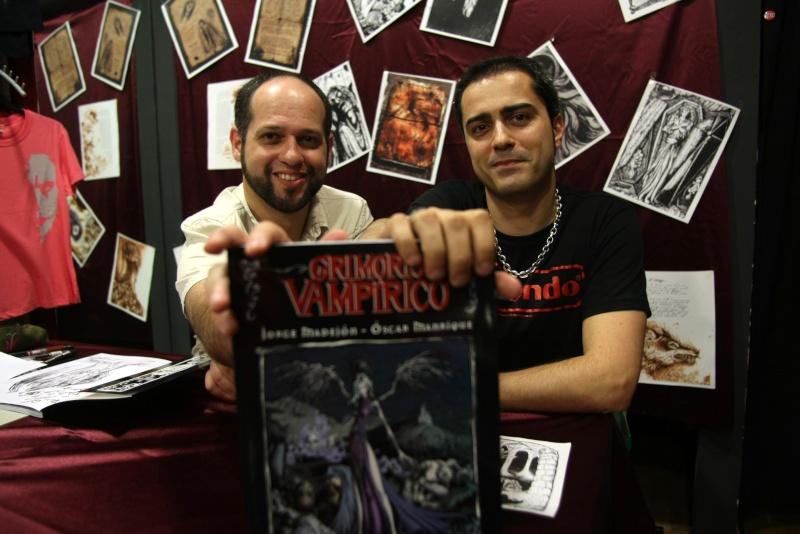 Grimorio Vampírico en el periódico He12_c10