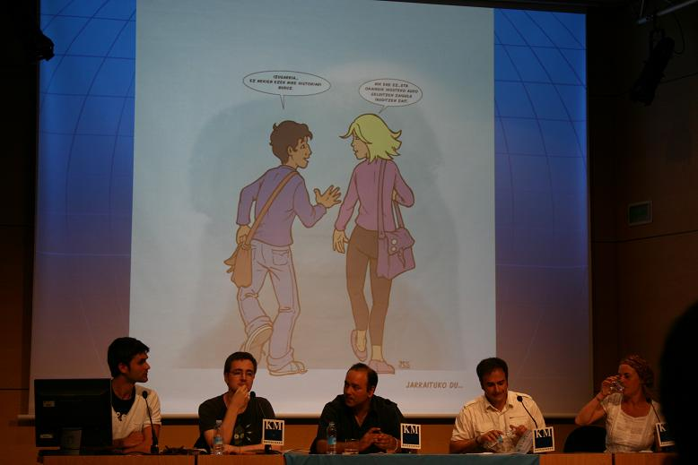 """Presentación del cómic: """"Miguel y Nekane. El pueblo gitano en la historia"""" Img_5217"""