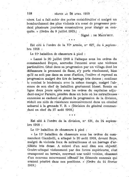 Fanion du 11e BCA - fourragère à Chelles Bca_0111