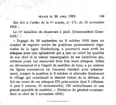 Fanion du 11e BCA - fourragère à Chelles Bca_0112
