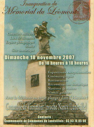 Monument 11° DI_le Léomont_54_ Inaugu10