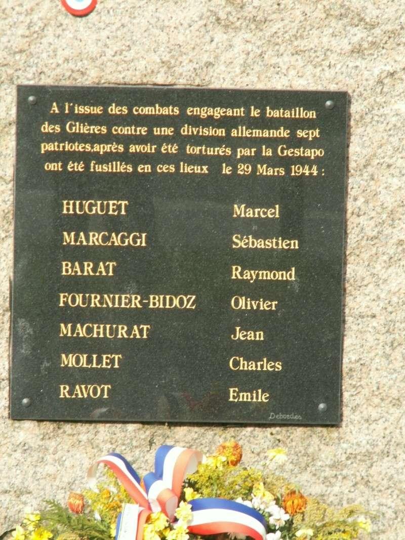 Monument des GLIERES Pict0619