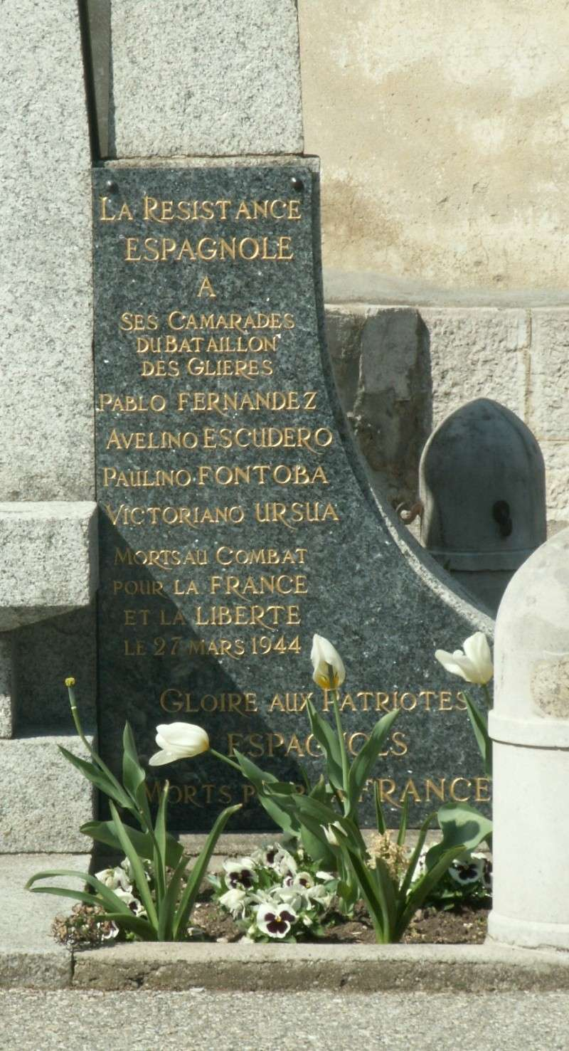 Monument des GLIERES Pict0627